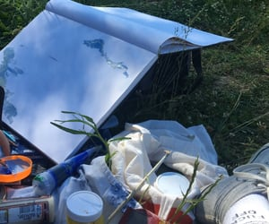 aesthetic, painting, and picnic image