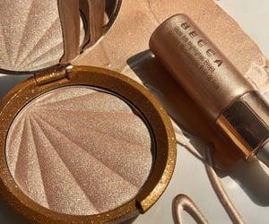 bronze, highlighter, and makeup image