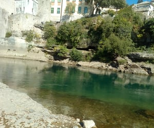 mostar, water, and nature image