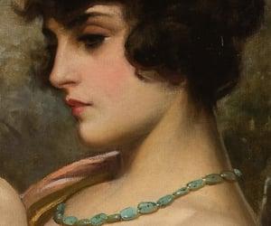 art, beauty, and portrait image