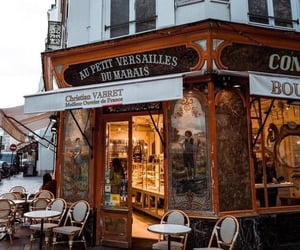 coffee, parís, and france image