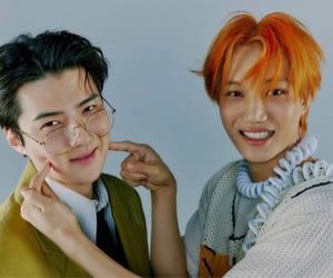 Chen, Hot, and kyungsoo image