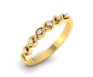 bands, jewelry, and diamond ring image