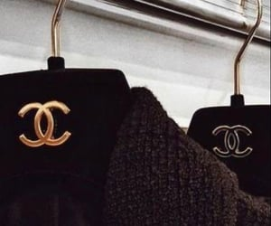 black, french, and hanger image