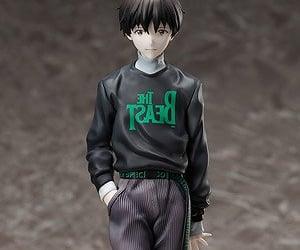 Neon Genesis Evangelion, anime figures, and shinji ikiru figure image