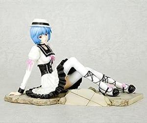 gothic figure, Neon Genesis Evangelion, and anime figures image