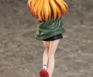 Neon Genesis Evangelion, anime figures, and asuka figure image