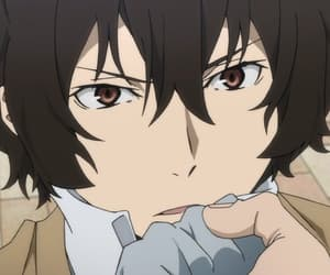 animes, osamu dazai, and bugou stray dogs image