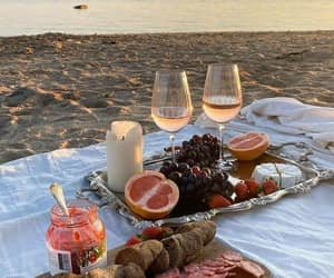 lunch, picnic, and relax image