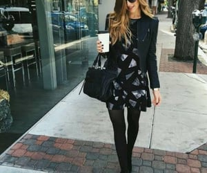 street fashion, little black dress, and outfit inspo image