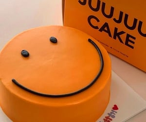 cake, cheerful, and smiley image