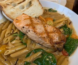 cooking, lunch, and pasta image