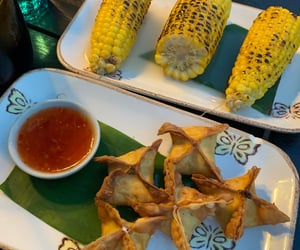 dinner, corn, and lunch image