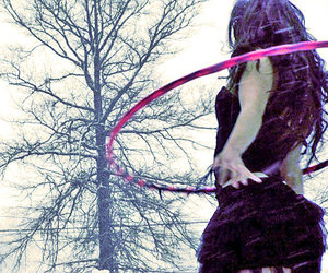 gorgeous, gothic, and hoop image