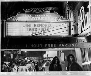 jimi hendrix' death 1970, huge loss in music, and the fillmore east image