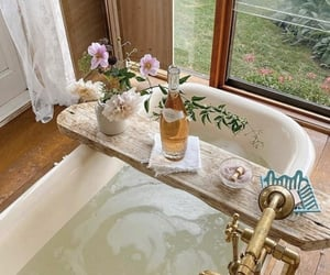 bathroom, relax, and beautiful image