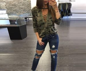 clothes, denim, and casual outfits image