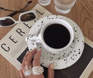 aesthetic, cappuccino, and drink image