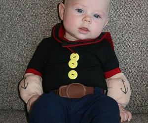 Holidays / Cute Halloween costume for a baby boy.