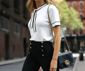 blouse, designer, and gucci image