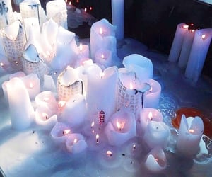 candle, aesthetic, and witch image