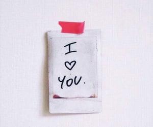 iloveyou, love, and polaroid image