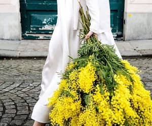 bouquet, flowers, and yellow image