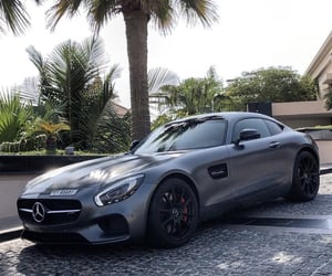 benz, matte, and mercedes image