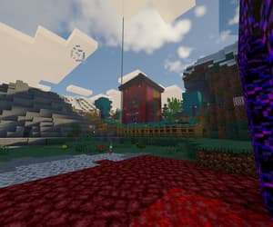 relaxing, minecraft, and shaders image