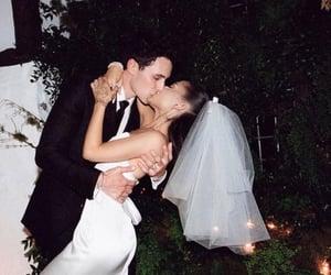 ariana grande, wedding, and dalton gomez image