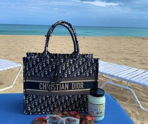 beach, Christian Dior, and dior image