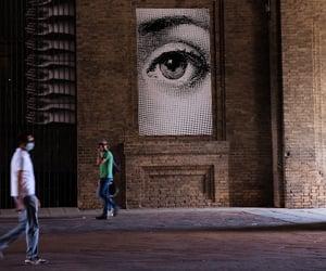 art, eye, and city image