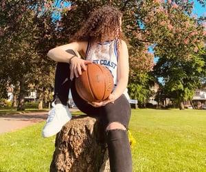 aesthetic, Basketball, and black image