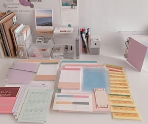 collection, notebook, and washi tapes image