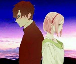 naruto, haruno sakura, and gaara image
