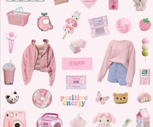 aesthetic, pink, and mbti image