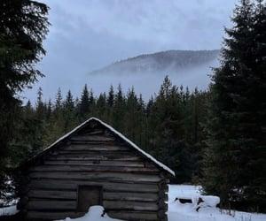 camino, invierno, and mountain image