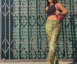leather pants, street style, and summer image