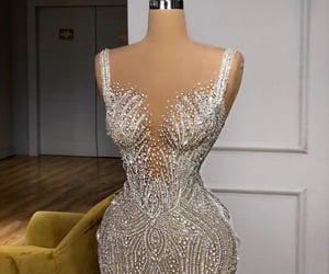 dress, classy, and gorgeous image