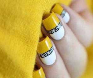 beauty, nail art, and acrylic nails image