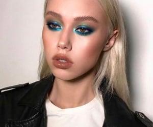 makeup, eyeshadow, and model image