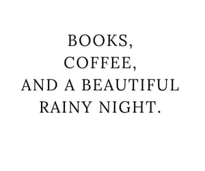 quotes, books, and coffee image