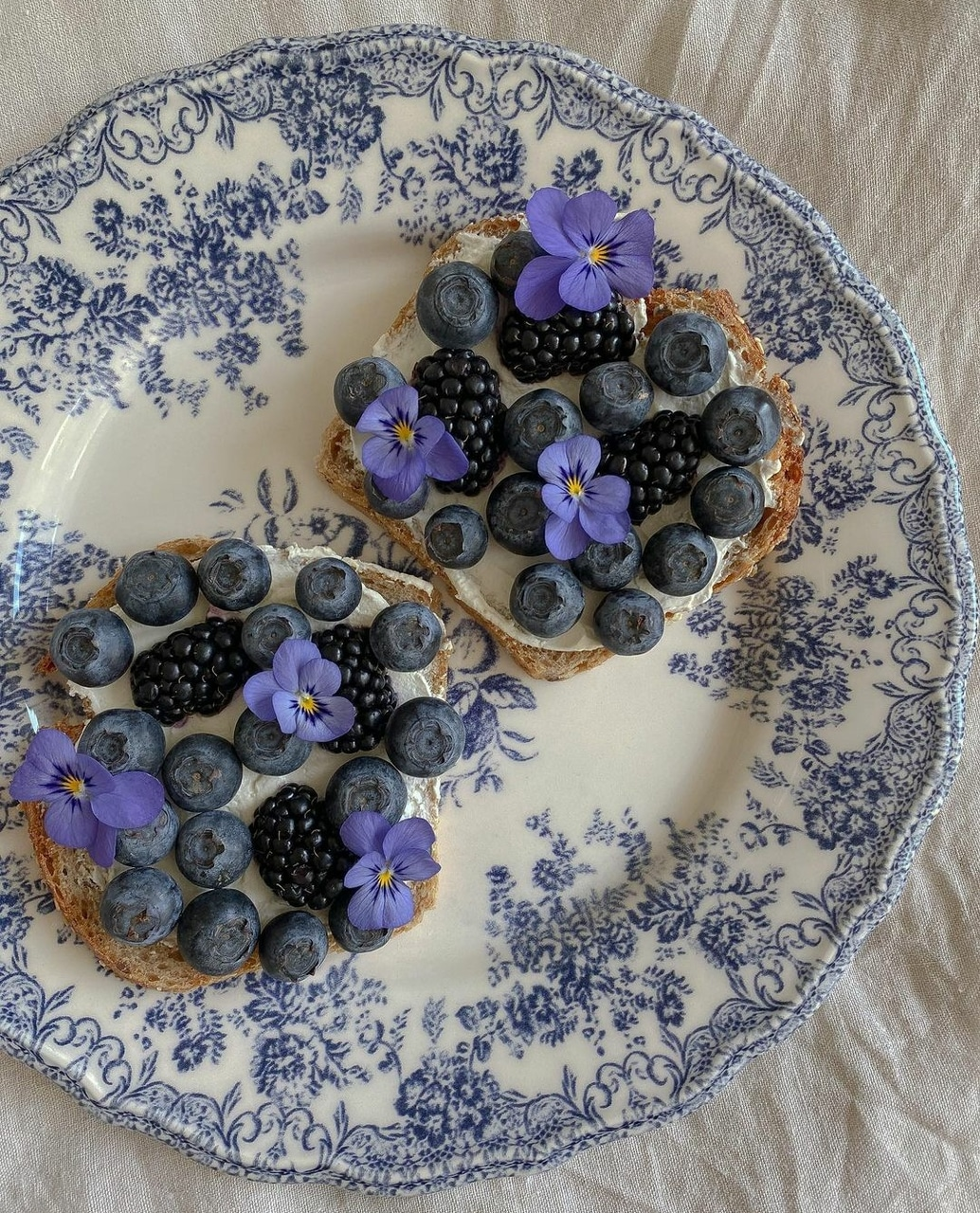 blue, blueberry, and breakfast image