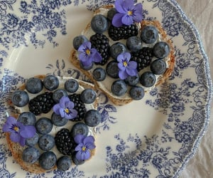 breakfast, photography, and violet image