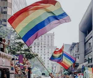 article, flags, and lgbtq+ image