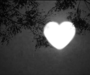 aesthetic, moon, and heart image