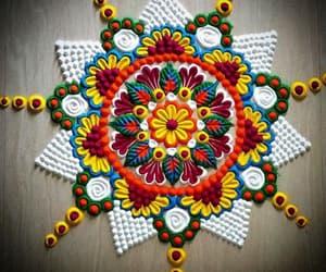 art, festival rangoli, and rangoli image