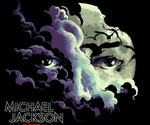 album, artwork, and michael jackson image