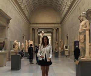 aesthetic, beige, and museum image