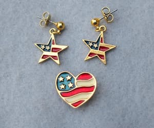 american flag, etsy, and gift for her image